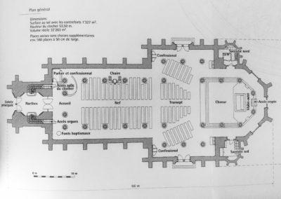 Basilique ND 2018 - plan intérieur